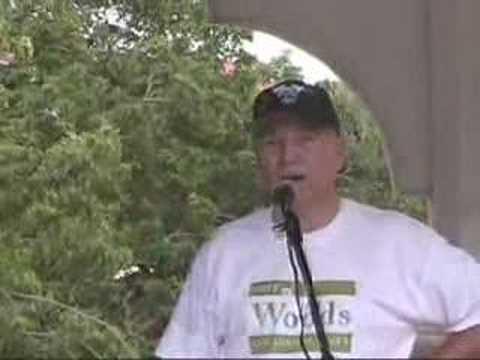 Jim Woods at Centennial Park