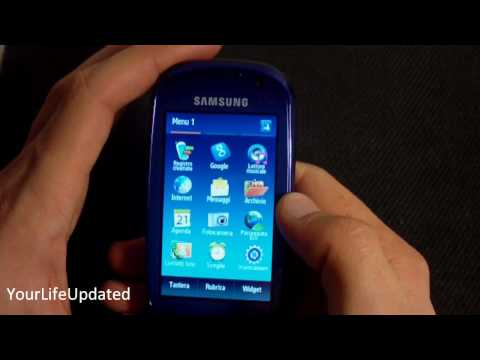 Samsung Blue Earth GT S7550 YourLifeUpdated.wmv