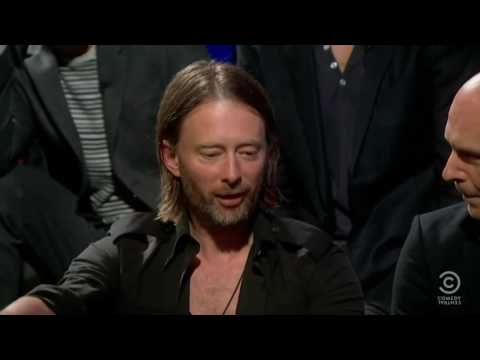 Radiohead (Full Band) Interview, 2011. (Colbert Report)
