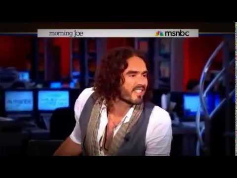 Russell Brand puts MSNBC's Morning Joe in its place