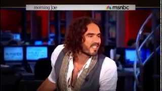 Russell Brand puts MSNBC