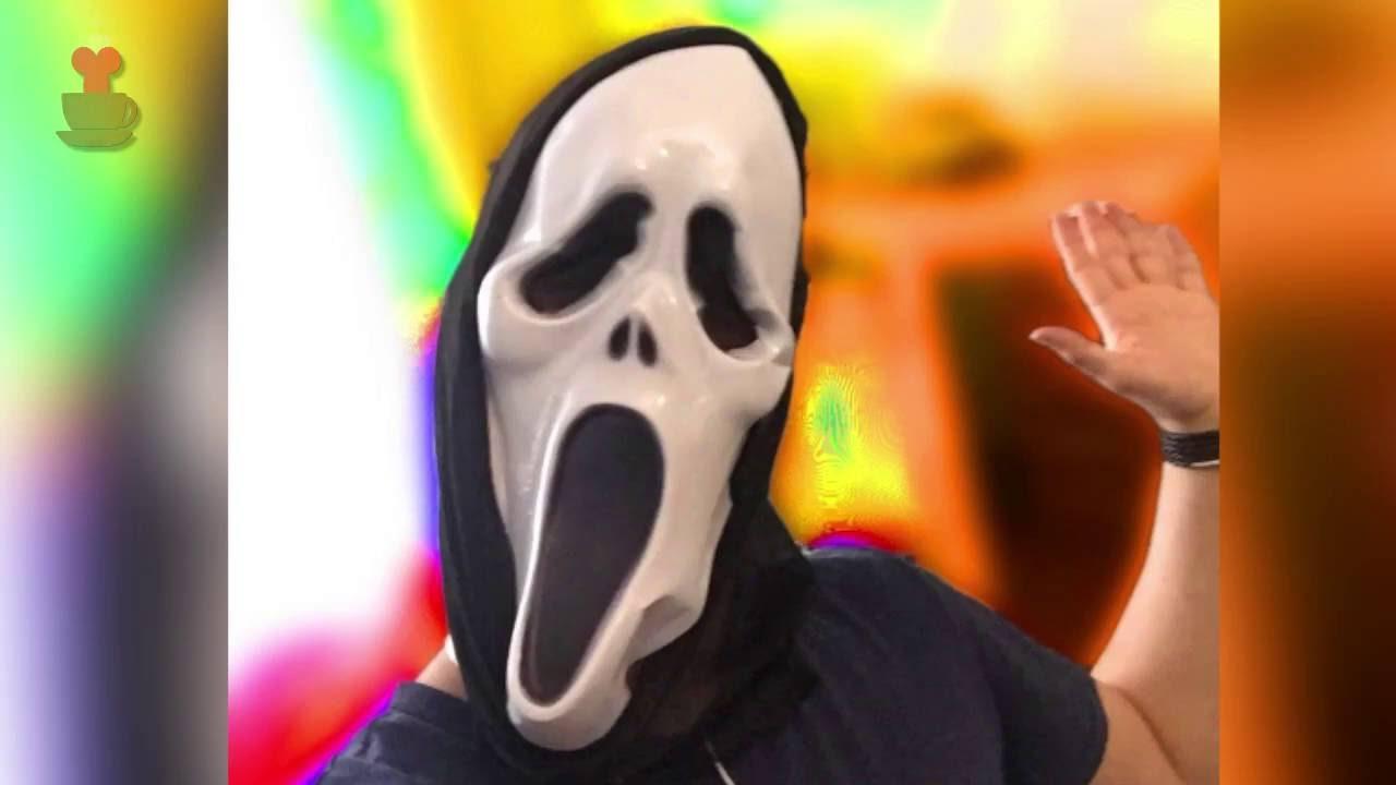 Мой друг в маске Крик - YouTube