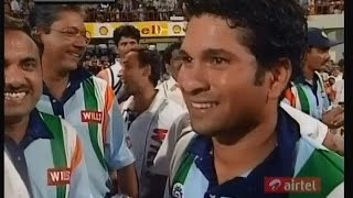 Sachin's Sharjah desert storm vs AUSTRALIA! 143 & 134 semifinals and finals!