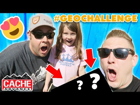 THE MOST BEAUTIFUL GEOCACHE EVER! (May 2018 Geocaching Challenge)