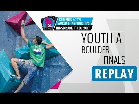 IFSC Youth World Championships Innsbruck 2017 - Bouldering - Male & Female Youth A Finals