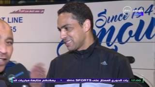 المقصورة - ضحك وهزار محمد بركات واحمد رؤوف بسبب افضل لاعب في مصر