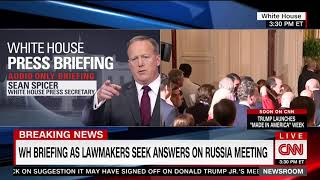 Spicer: Democrats colluded with Ukraine