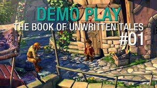 DEMO PLAY: The Book Of Unwritten Tales (Part 1)