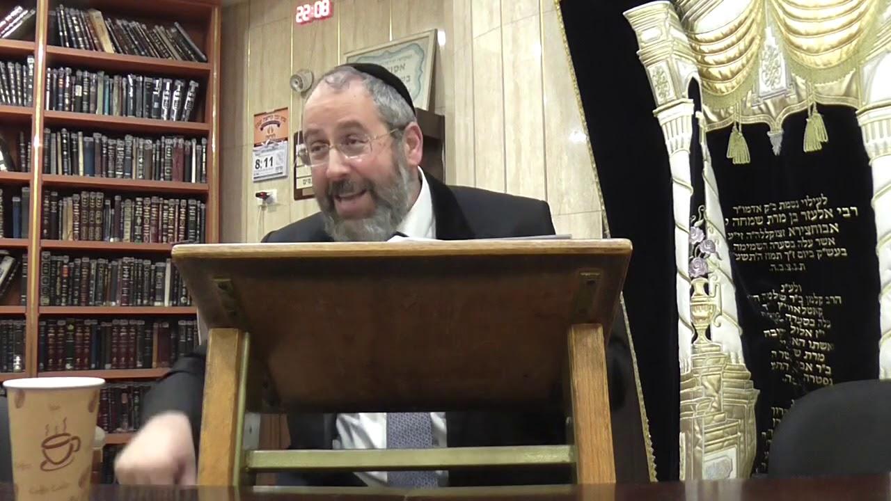 הרב הראשי לישראל הגאון רבי דוד לאו בשיעור השבועי בפרשת ויגש