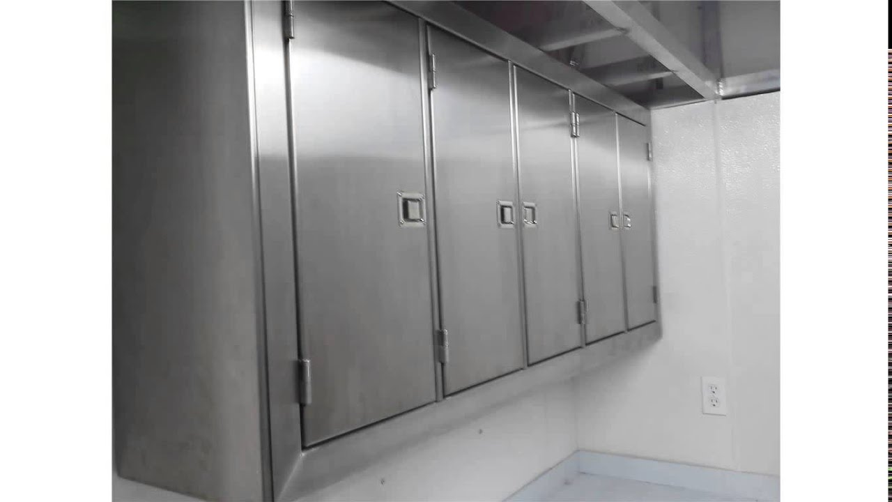 stainless steel cabinets - Stainless Steel Cabinets - YouTube