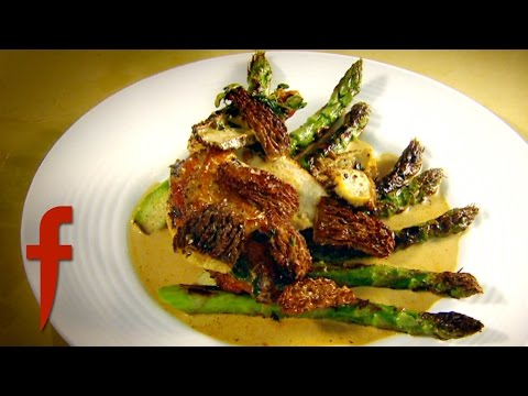 Pan-Fried Chicken Breast with Asparagus and Morel Sauce | Gordon Ramsay's The F Word Season 3