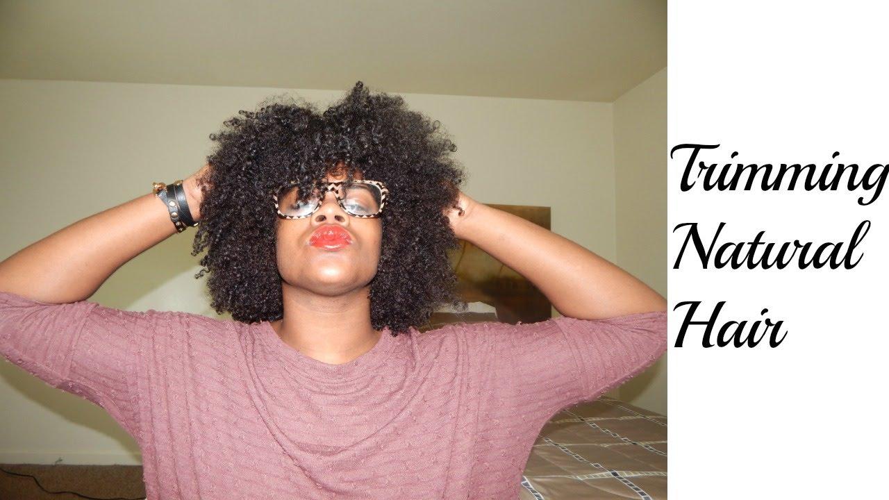 Trimming Natural Hair: Wet Vs. Dry
