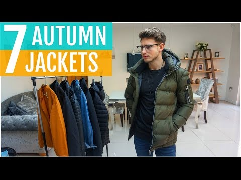 7 MUST HAVE JACKETS FOR MEN THIS AUTUMN/FALL 2019