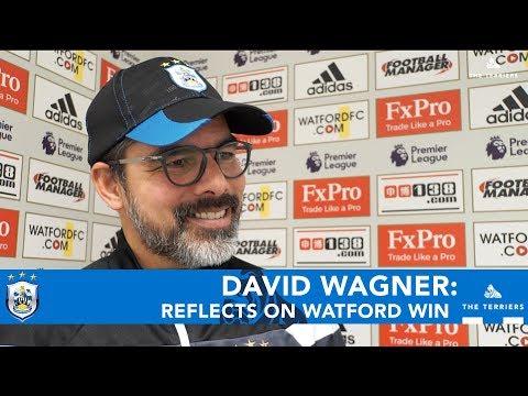 WATCH: David Wagner reflects on Watford win
