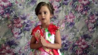 'Стихотворение про детский сад. Читает Лагода Виолетта, 5 лет.'