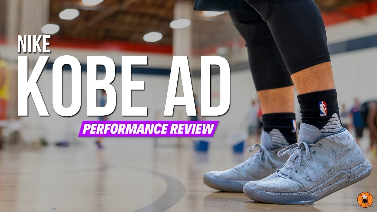 df2aa6f18145 Nike Kobe AD Mid  Detached  Performance Review - YouTube