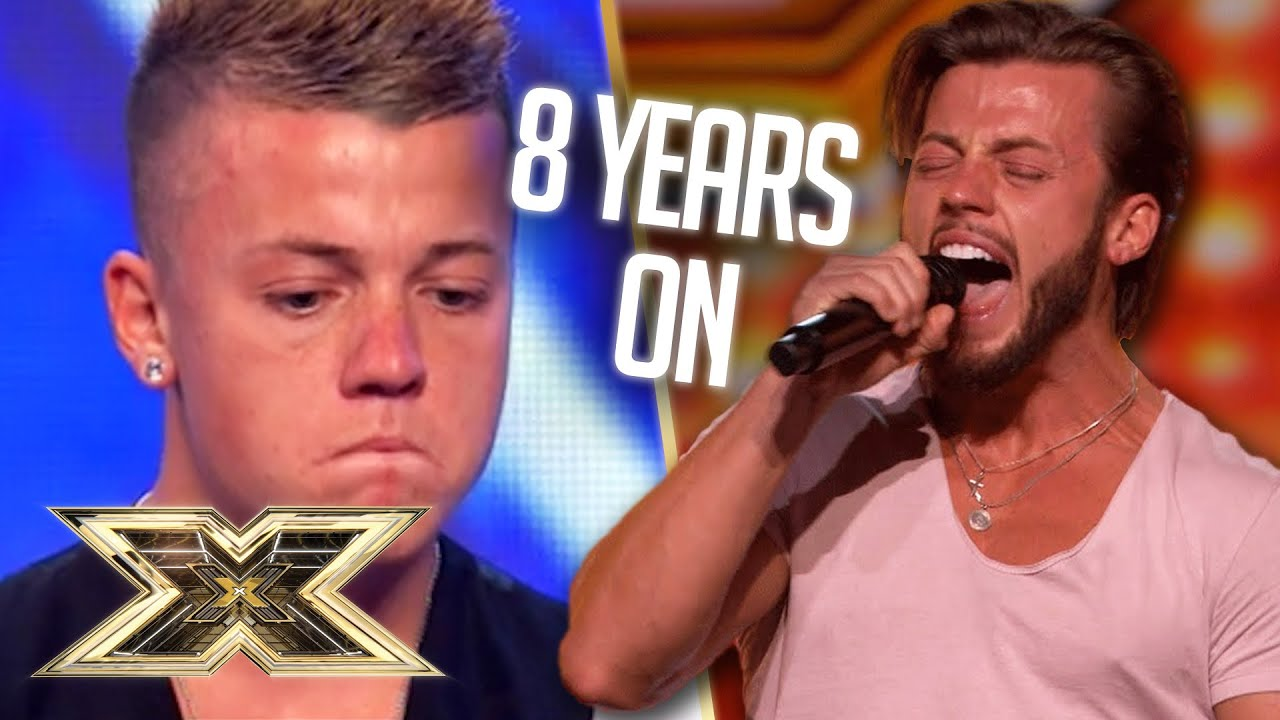 2 Auditions... 8 YEARS APART! Tom returns with A BELTER! | The X Factor UK
