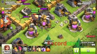 Clash of clans: raided by Chuck Norris?!?!?
