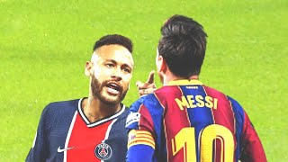 THIS IS WHAT HAPPENED WHEN NEYMAR CHALLENGED MESSI! BARCELONA PSG