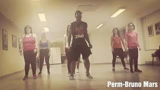 Perm- Bruno Mars Zumba Choreography