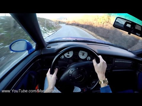YOU Drive the Audi RS2 Fast! - POV Test Drive & Soundcheck
