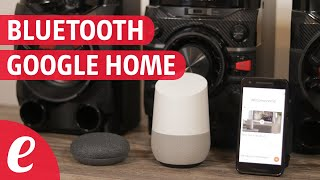 Como usar Google Home con un altavoz Bluetooth (español)