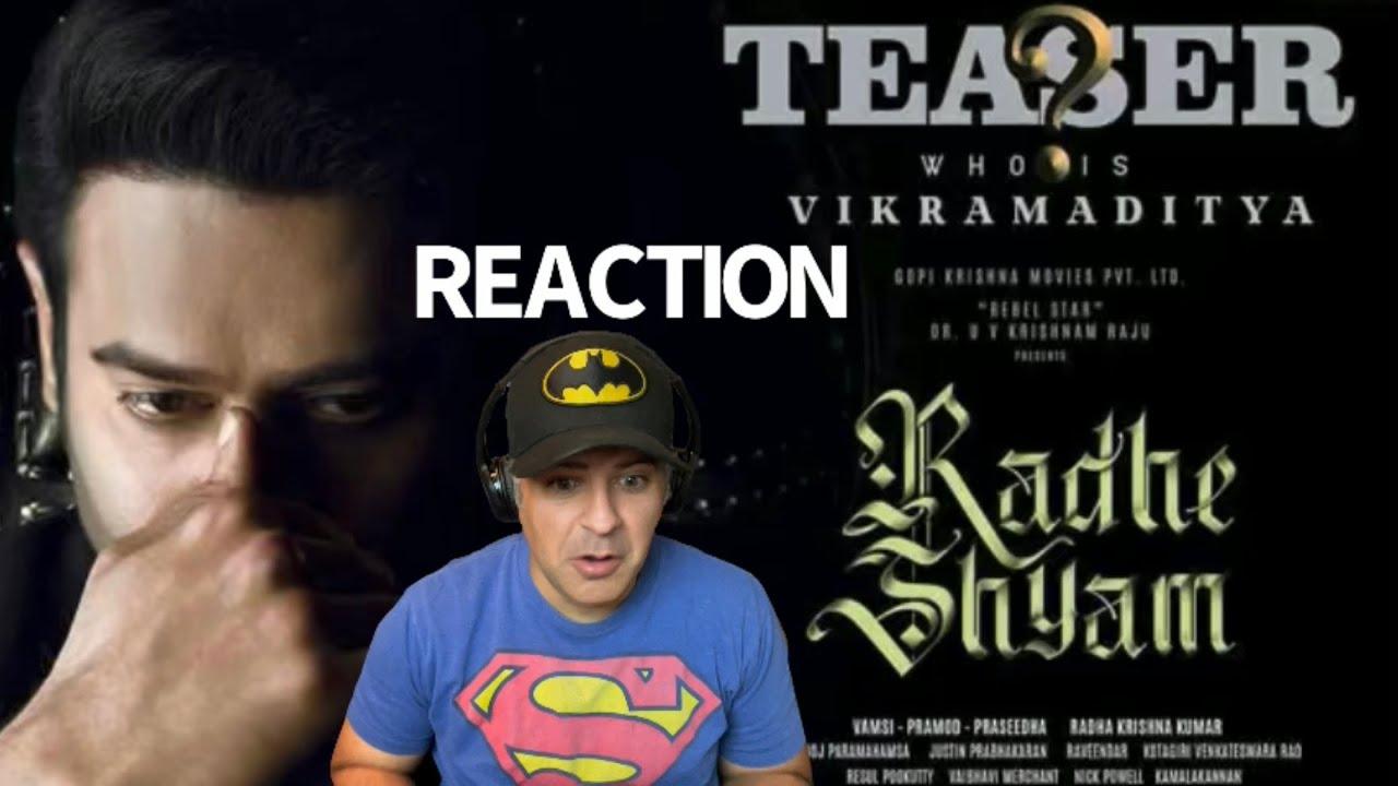 Download Prabhas as VikramAditya   Character Teaser REACTION   Radhe Shyam   Pooja Hedge