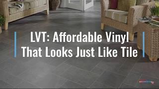 lvt affordable vinyl that looks just