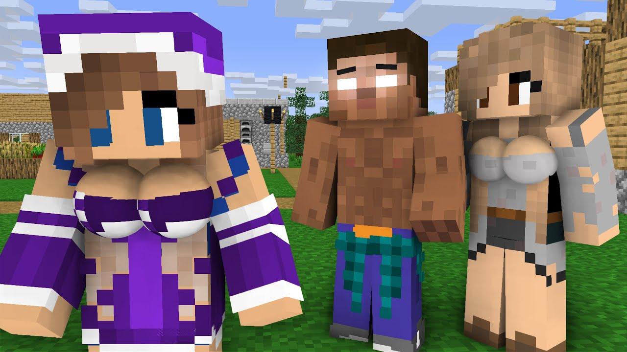 Herobrine life Episode 3 - Minecraft animation