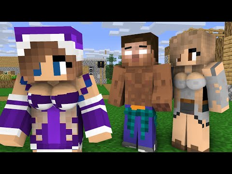 Herobrine life Episode 3 - Minecraft animation