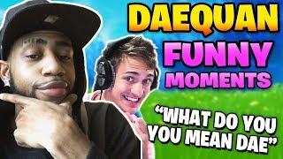 Daquan Funny Moments Fortnite - Daequan Funniest Moments ( ft. NINJA )