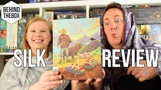Silk Board Game Review - Behind the Box