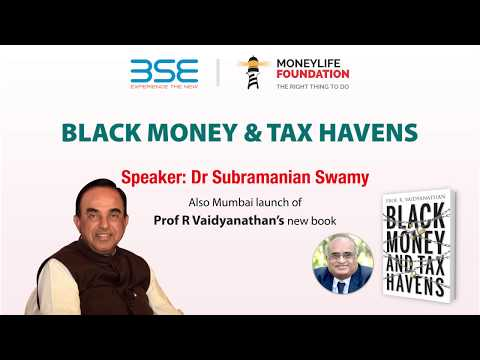 Abolish Income Tax, Levy 8% GST after bringing black money from abroad, says Dr Swamy