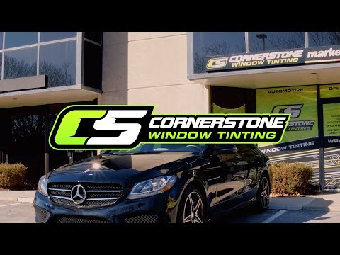 2014 and newer Mercedes CLA Coupe 5/% Limo Pre cut window tint Rear windows