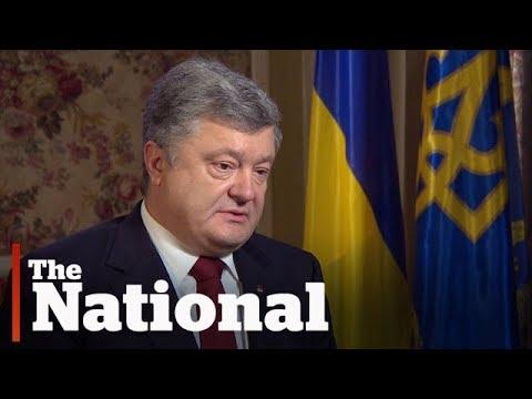 Ukrainian president wants Canada's help