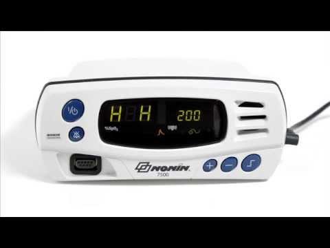 Nonin 7500 Pulse Oximeter - Alarm Setup
