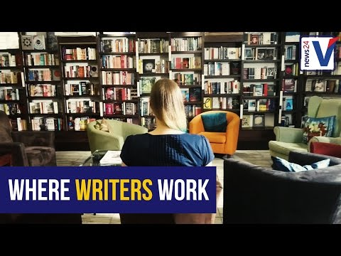 WATCH: A tour of places where SA writers work
