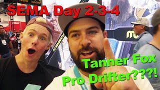 SEMA / Tanner Fox Drift Lessons?