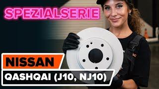 Installation Scheibenbremsen beschichtet NISSAN QASHQAI: Video-Handbuch
