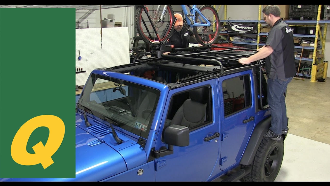 Rugged Ridge Exo Top For Jeep Wrangler Jk Review Youtube