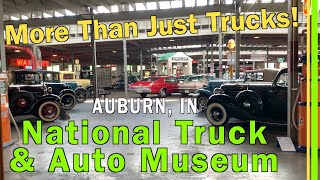 NATIONAL TRUCK & AUTO MUSEUM (AUBURN/CORD/DUESENBERG MUSEUM) AUBURN IN | TWO FLOORS OF HISTORY EP138