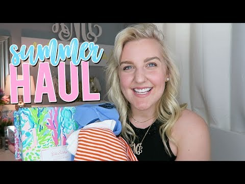HUGE PREPPY SUMMER HAUL (Lilly Pulitzer, J.Crew & MORE) || Kellyprepster