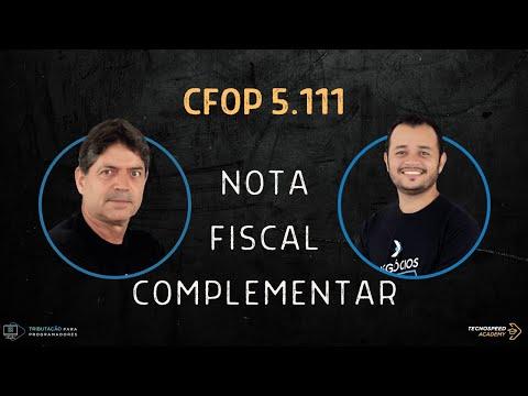 CFOP 5111 - Como e quando utilizar