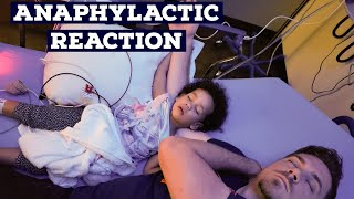Anaphylactic Reaction for the First Time...