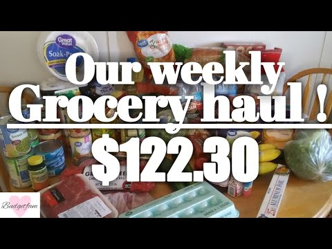 weekly-grocery-haul-/-full-week-of-grocery's-for-only-$122.30.