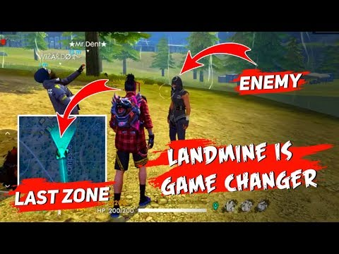 Landmine Is Game Changer - Garena Free Fire- Total Gaming Live