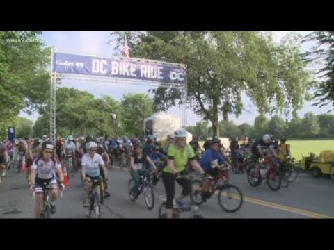 DC Bike Day held at West Potomac Park