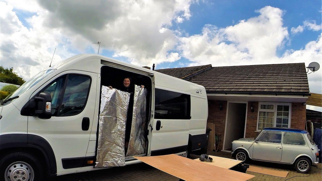 peugeot boxer l4 h2 camper van conversion episode 7. Black Bedroom Furniture Sets. Home Design Ideas