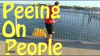 Prank Gone Wrong! Boat Crashes! Pee-ing On People Prank Clearwater Beach