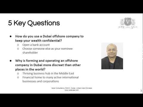 Offshore Company Formation Dubai | 5 Key Questions